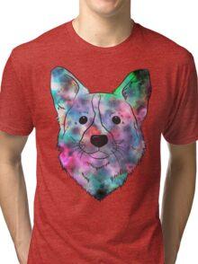 Space Dog Tri-blend T-Shirt