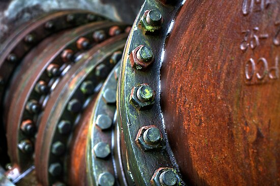 Rusty Pipe by Gary Bergeron