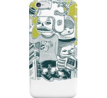 Leave your town and follow me iPhone Case/Skin