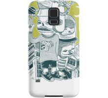 Leave your town and follow me Samsung Galaxy Case/Skin