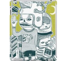 Leave your town and follow me iPad Case/Skin