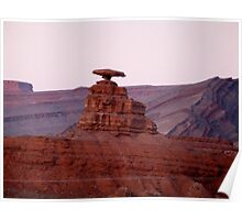 Mexican Hat, New Mexico Poster