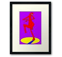 Spare Leg Framed Print