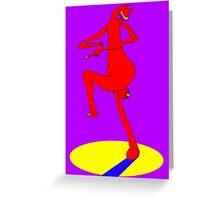 Spare Leg Greeting Card