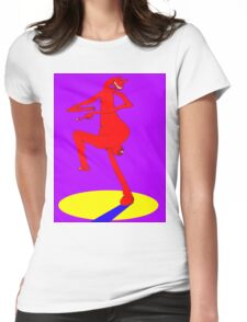 Spare Leg Womens Fitted T-Shirt