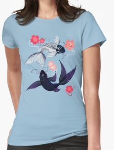 Yin and Yang Koi and Cherry Blossoms T-Shirt