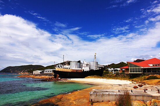 Old whaling station by georgieboy98