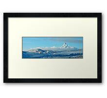 Mt. Washington Panoramic Framed Print