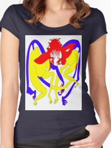 Red Heads Rutting Women's Fitted Scoop T-Shirt