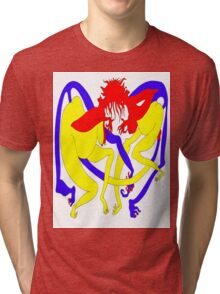 Red Heads Rutting Tri-blend T-Shirt
