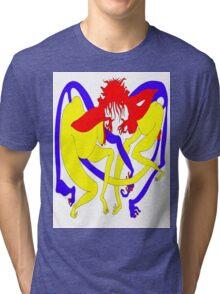 Red Heads Rutting Tri-blend T-Shirt