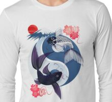 Yin and Yang Koi Long Sleeve T-Shirt