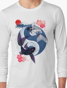 Yin and Yang Koi Long Sleeve T-Shirt