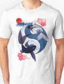 Yin and Yang Koi Unisex T-Shirt