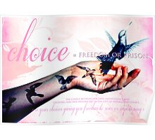 Freedom of Choice Poster