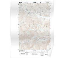 USGS Topo Map Washington State WA Mount Howard 20110601 TM Poster