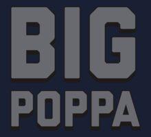 Call Me Big Poppa  One Piece - Short Sleeve