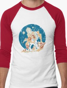 Damsel in Distress Men's Baseball ¾ T-Shirt