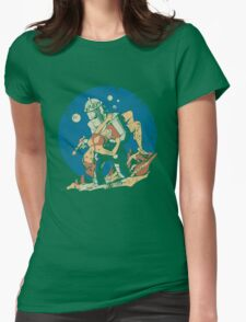 Damsel in Distress Womens Fitted T-Shirt