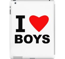 I Love Boys iPad Case/Skin