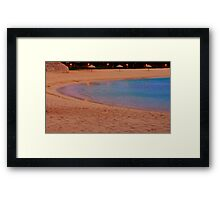 Ambient Traces Framed Print