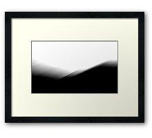Shadows over the Lake Framed Print