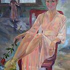 Lightness-portrait of Kirsty Martin, former principal ballerina of Australian Ballet by Paulina Kazarinov