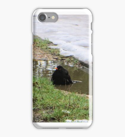 cold shower iPhone Case/Skin