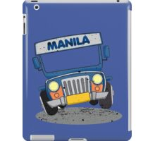 Philippine Jeepney cartoon prints iPad Case/Skin