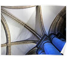 Hexham Abbey Aisle Vaulting Poster
