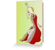 Cloak Room 2 Greeting Card