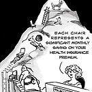 Health Insurance Cartoon by David Stuart