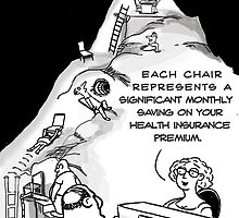 Health Insurance Cartoon by David Stuart