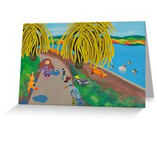 Wildlife of Stanley Park, Vancouver BC, Canada  Greeting Card