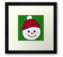 Stay Frosty Framed Print
