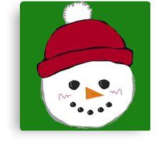 Stay Frosty Canvas Print