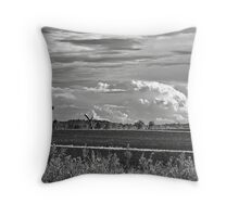 Busy Skies Throw Pillow