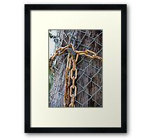 Lock up the trees! Framed Print