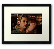Thor Says Hi Framed Print