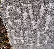 Give Hed by Keri Buckland