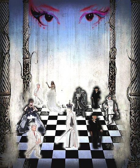 Human Chessboard by Gal Lo Leggio