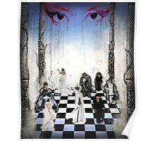 Human Chessboard Poster