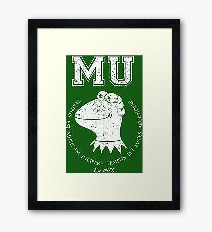 Muppet University Framed Print