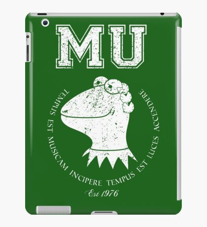 Muppet University iPad Case/Skin