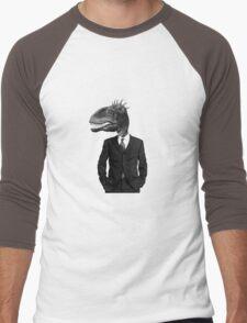The Saurus Society - No Extinction Theory Men's Baseball ¾ T-Shirt