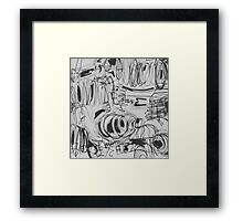 Monotone Perspective Framed Print