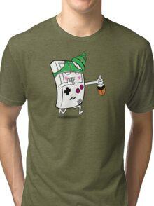Drunken Gameboy Tri-blend T-Shirt