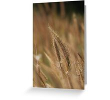 I love Grass. Greeting Card
