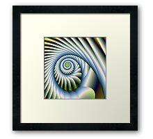 Rope Spiral Framed Print