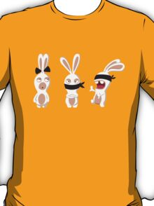 The three wise Rabbids ! T-Shirt